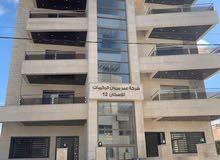 شقة طابق ثالث مع رووف دوبلكس مساحة الشقة 110م وروف 45 وتراس 65 (مشروع نوران 12)