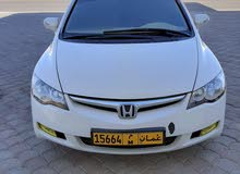 للبدل او البيع هوندا سيفيك رقم واحد خليجي وكالة عمان