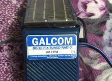 راديو صناعة كندية .يشتغل على الطاقة الشمسية موجة واحدة FM 102.9