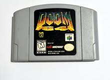 Doom 64 cartridge for nintendo 64