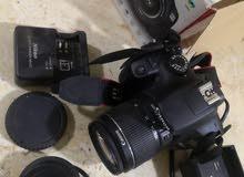 كاميرا للبيع جديده كرت  كاميرا كانون الاصليه السعر 200