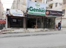 محل تجاري للايجار في إربد غرب الباب الغربي لجامعة اليرموك