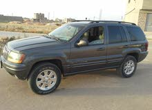 Automatic Grey Jeep 2002 for sale