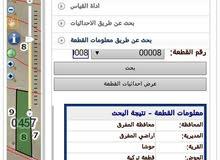 أرض 10 دونمات منطقة حوشا المفرق