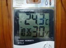 قياس حراره ورطوبه