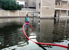 للايجار مولد شفط مياه الامطار حجم صغير 0925217705