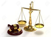 تقديم طلبات واستشارات قانونية واعداد لوائح