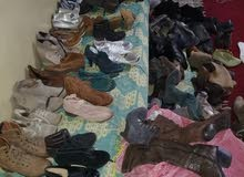 احذية مستعملة بي جوملاة 100 سباط مختلطة لي نساء مرحبا