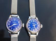 ساعة روسية نسائية تشتغل بالنبض