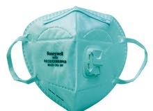 Honeywell N95 h950v face masks with breathing valve