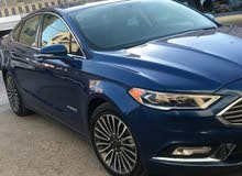 Ford Fusion 2018 For sale - Blue color