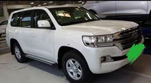 Beige Toyota Land Cruiser 2017 for rent