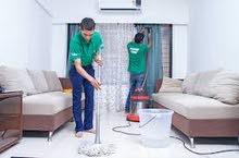 شركة جنة لخدمات لتنظيف منازل وفلل وشركات