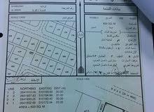 ارض للبيع في ولاية الخابورة مخطط البريك الثاني