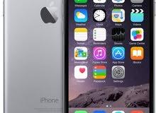 ابل ايفون 6 مع فيس تايم - 16 جيجا،فضي