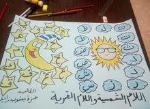 رسم على الدفاتر للاطفال ولوحات مدرسيه