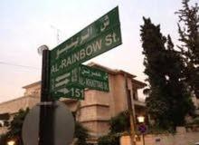 عمارة للبيع في الاردن عمان جبل عمان شارع الرينبو مساحة الارض 300م مساحة البناء 237م