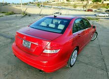 Red Mercedes Benz C 350 2010 for sale