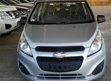 Chevrolet Spark 2015 For sale - Silver color