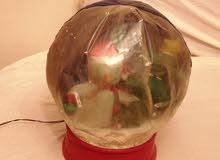 لعبة رأس السنة سنو وايت (الرجل الثلجي) بنفخ البالون وتطاير الخرز بالكهرباء ب250ج