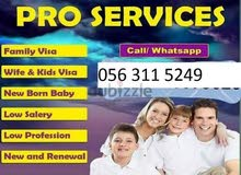Family Visa Services in UAE