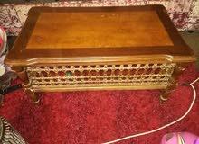 طاولات خشب زان مصري من دمياط