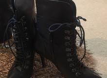 بوت ماركة جلد أصلي luciano barachini boots