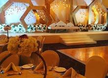 تنظيم حفلات الزفاف وجميع المناسبات