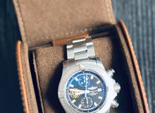 ساعة بريتلينغ  أصلي مع الضمان صالح سنتين غير مستعملة نهائيا