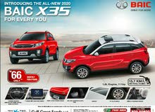 ALL-NEW BAIC X35 2020 MODEL MONTHLY EMI RO 66 FOR 6 YEARS FROM BANK ONLY