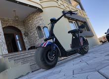دراجة كهربائية مميزة تعمل بالشحن