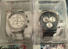 ساعات Swatch irony wales و Swatch DreamWhite جديدة اصلية