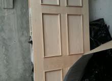 باب رئيسي بدون قفص والطول 2 متر  والعرض 87