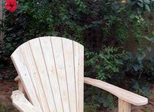 كراسي حدائق  تصميم امريكي صناعة محلية