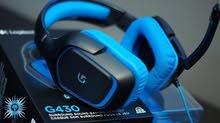 سماعات العاب لوجيتك G430