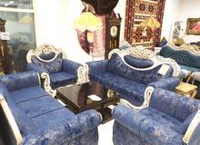 8 seats blue silver model