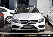 For sale 2015 White C 200