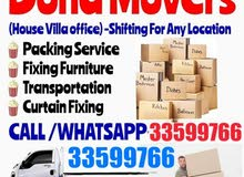 Doha House shifting moving Carpenter Transportation available