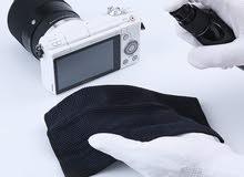 طقم تنظيف لابتوب + عدسة كاميرا