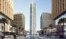 محل للبيع بالعاصمة الإدارية الجديدة 30 متر في أكبر برج بالداون تاون