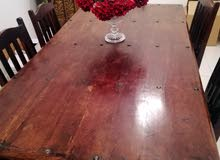 very solid and hard wodden table  ch