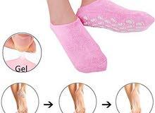 جوارب السيليكون لتنعيم القدم