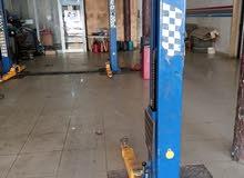مطلوب اسطئ صالة سيارات ورشة صالة