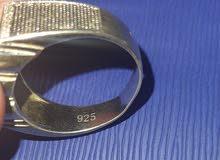 خاتم فضة رجالي Men's silver ring