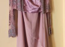 فستان سهرة طويل مقاس ستاندرد