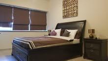 دبي بيزنس باي غرفتين وصالة مفروشة سوبر لوكس مع بلكونة ايجار شهري شامل