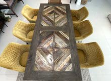 beautiful original marina home dining table in pristine conditions