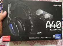 ASTRO A40 GAMING HEADSET + MIXAMP PRO TR