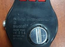 ساعة swatch أصلية رجالية