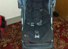 سرير بيبي هزاز + عربة بيبي + مشاية بيبي للبيع